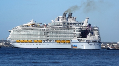 Départ Symphony of the Seas